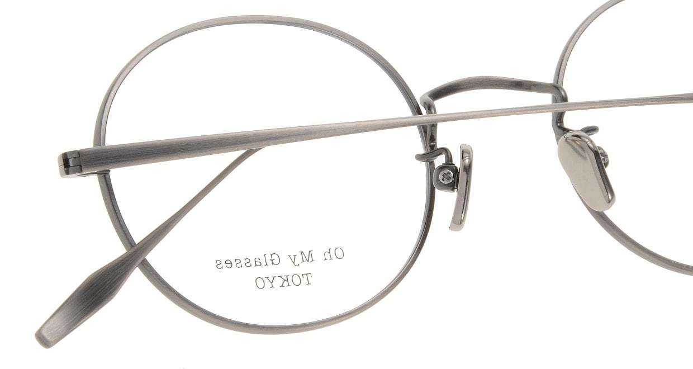 Oh My Glasses TOKYO Lia omg-088-3-48 [メタル/鯖江産/丸メガネ/シルバー]  4