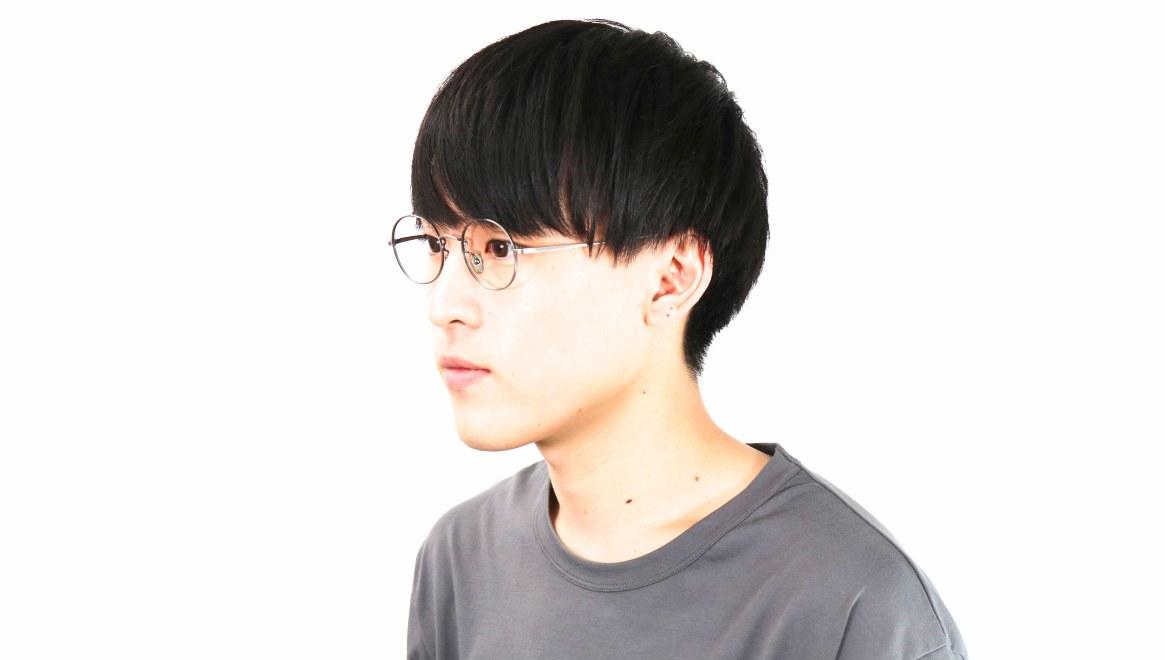 Oh My Glasses TOKYO Lia omg-088-3-48 [メタル/鯖江産/丸メガネ/シルバー]  6