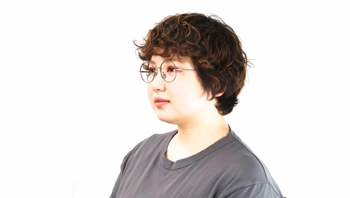 Oh My Glasses TOKYO Lia omg-088-3-48 [メタル/鯖江産/丸メガネ/シルバー]  8