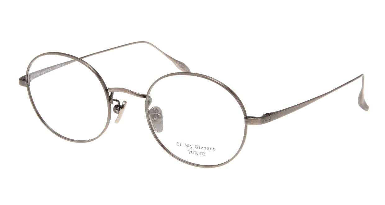Oh My Glasses TOKYO Lia omg-088-4-48 [メタル/鯖江産/丸メガネ/茶色]
