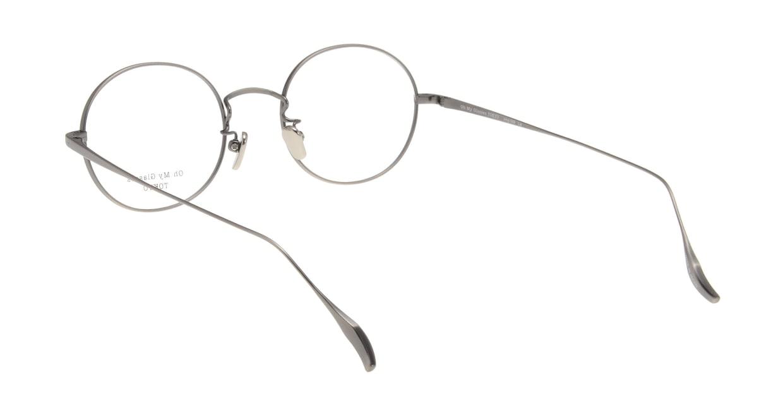Oh My Glasses TOKYO Lia omg-088-4-48 [メタル/鯖江産/丸メガネ/茶色]  2