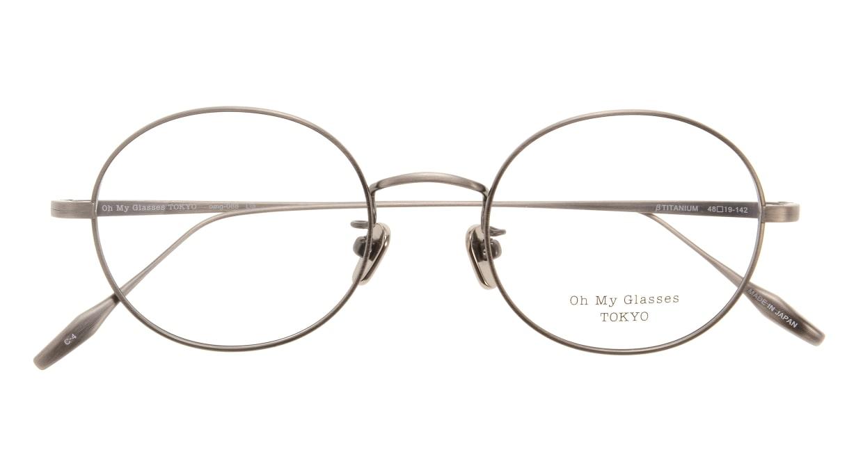 Oh My Glasses TOKYO Lia omg-088-4-48 [メタル/鯖江産/丸メガネ/茶色]  3