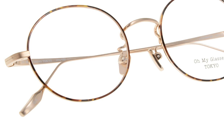 Oh My Glasses TOKYO Lia omg-088-5-48 [メタル/鯖江産/丸メガネ/べっ甲柄]  4