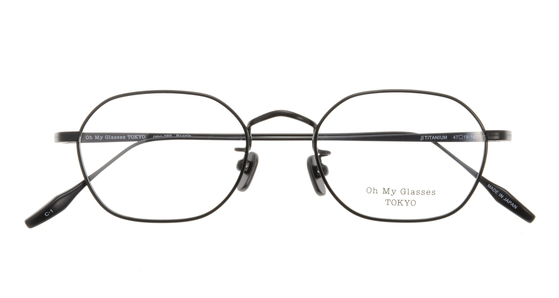 Oh My Glasses TOKYO Reggie omg-089-1-47 [メタル/鯖江産/スクエア]  3