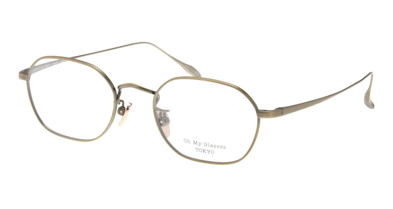 Oh My Glasses TOKYO Reggie omg-089-2-47 [メタル/鯖江産/スクエア/ゴールド]