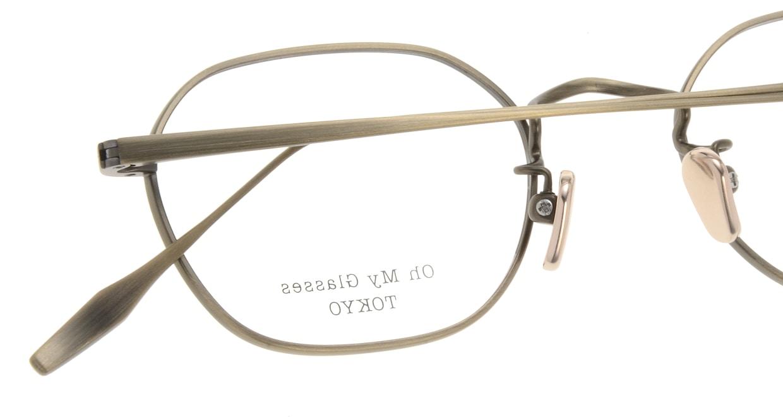 Oh My Glasses TOKYO Reggie omg-089-2-47 [メタル/鯖江産/スクエア/ゴールド]  4