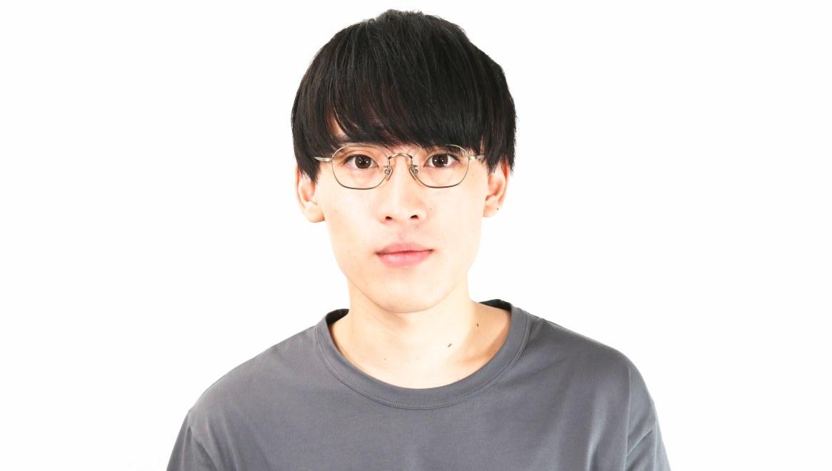 Oh My Glasses TOKYO Reggie omg-089-2-47 [メタル/鯖江産/スクエア/ゴールド]  5
