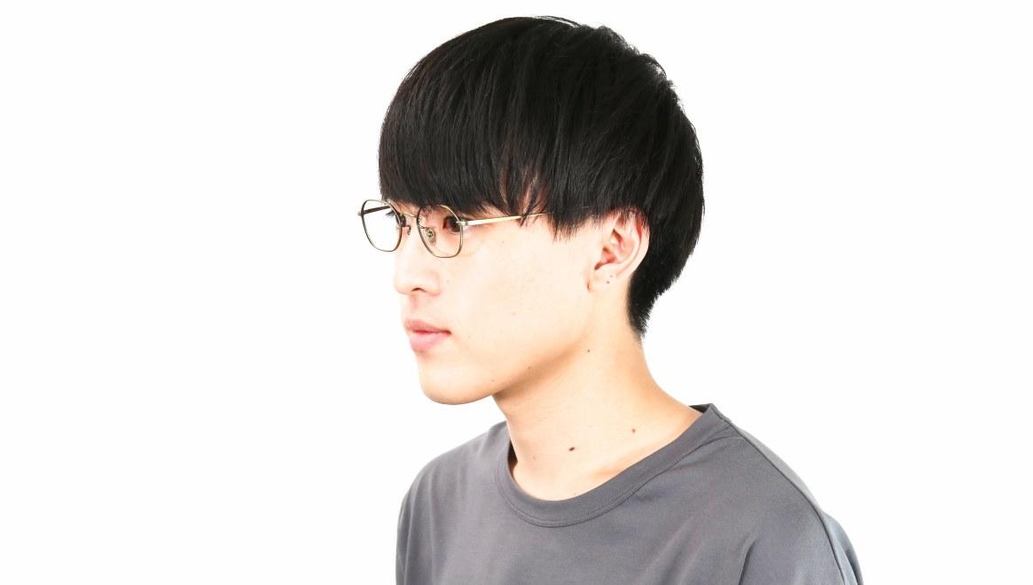 Oh My Glasses TOKYO Reggie omg-089-2-47 [メタル/鯖江産/スクエア/ゴールド]  6
