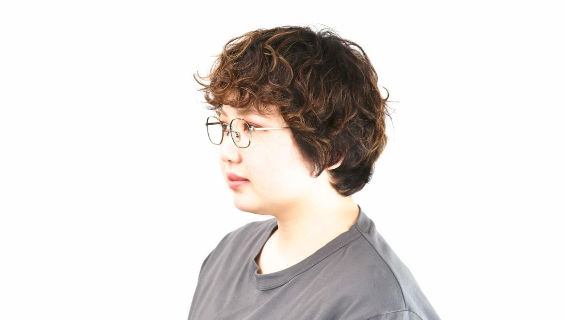 Oh My Glasses TOKYO Reggie omg-089-2-47 [メタル/鯖江産/スクエア/ゴールド]  8