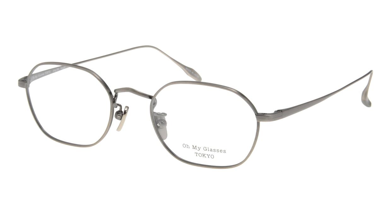 Oh My Glasses TOKYO Reggie omg-089-3-47 [メタル/鯖江産/スクエア/シルバー]