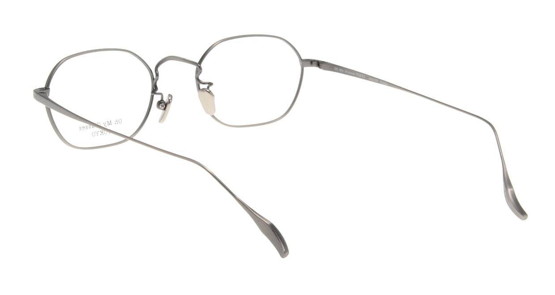 Oh My Glasses TOKYO Reggie omg-089-3-47 [メタル/鯖江産/スクエア/シルバー]  2