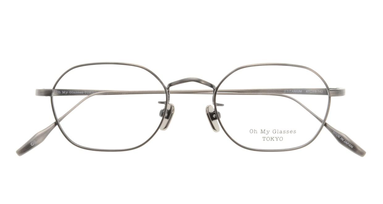 Oh My Glasses TOKYO Reggie omg-089-3-47 [メタル/鯖江産/スクエア/シルバー]  3