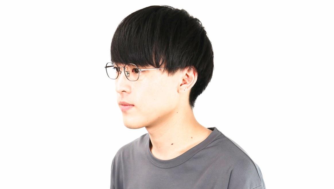 Oh My Glasses TOKYO Reggie omg-089-3-47 [メタル/鯖江産/スクエア/シルバー]  6