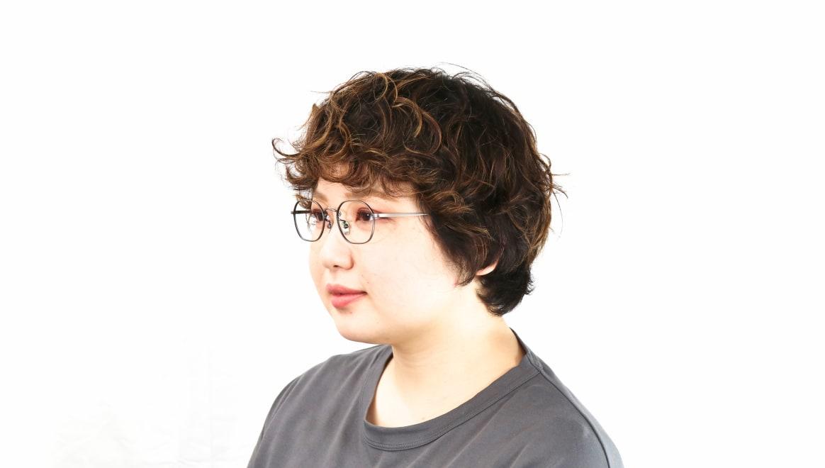 Oh My Glasses TOKYO Reggie omg-089-3-47 [メタル/鯖江産/スクエア/シルバー]  8