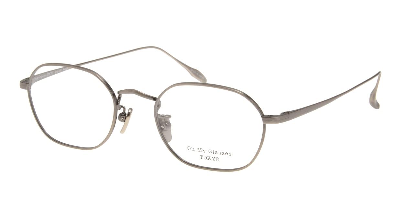 Oh My Glasses TOKYO Reggie omg-089-4-47 [メタル/鯖江産/スクエア/茶色]