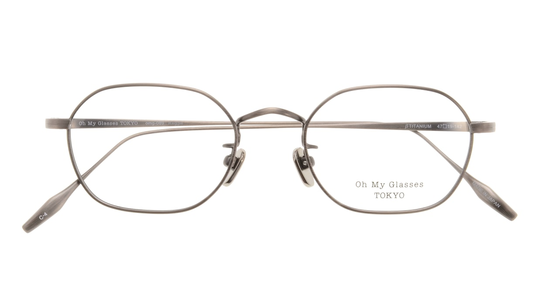 Oh My Glasses TOKYO Reggie omg-089-4-47 [メタル/鯖江産/スクエア/茶色]  3