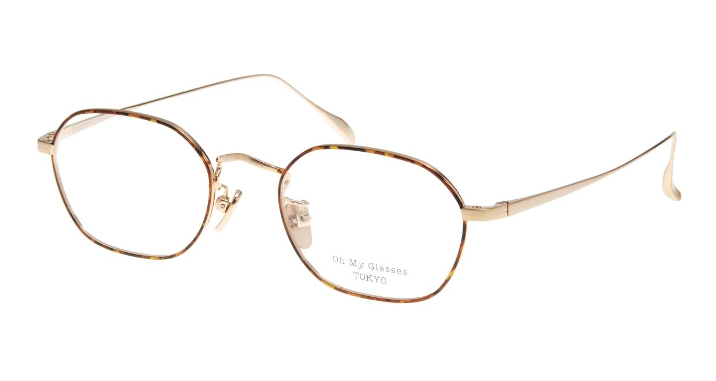 Oh My Glasses TOKYO Reggie omg-089-5-47 [メタル/鯖江産/スクエア/べっ甲柄]