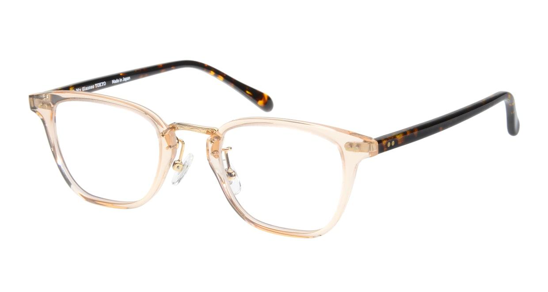Oh My Glasses TOKYO Nelson omg-090-4 [鯖江産/ウェリントン/透明]
