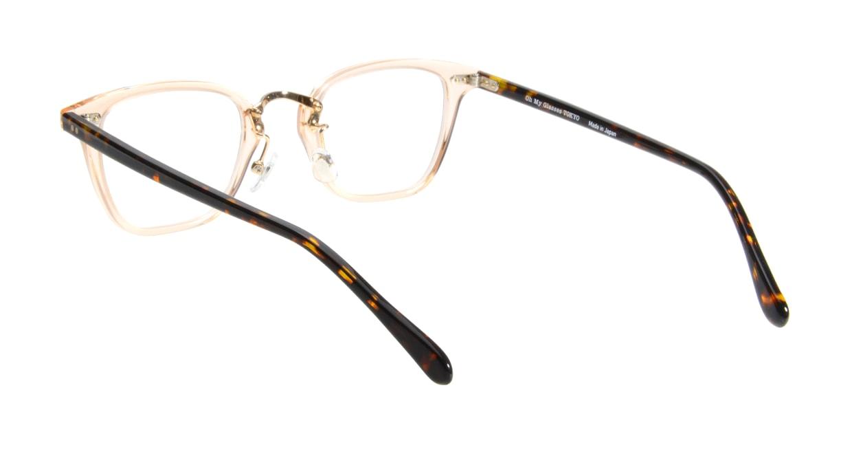 Oh My Glasses TOKYO Nelson omg-090-4 [鯖江産/ウェリントン/透明]  2