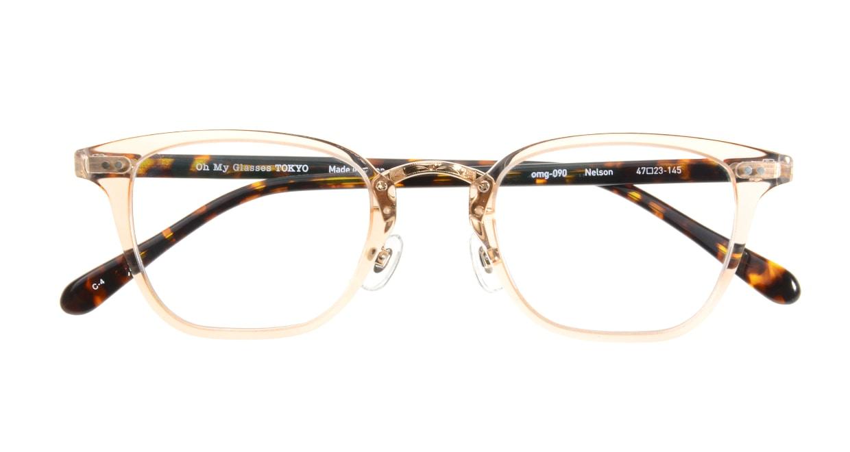 Oh My Glasses TOKYO Nelson omg-090-4 [鯖江産/ウェリントン/透明]  3
