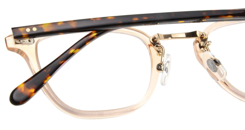 Oh My Glasses TOKYO Nelson omg-090-4 [鯖江産/ウェリントン/透明]  4