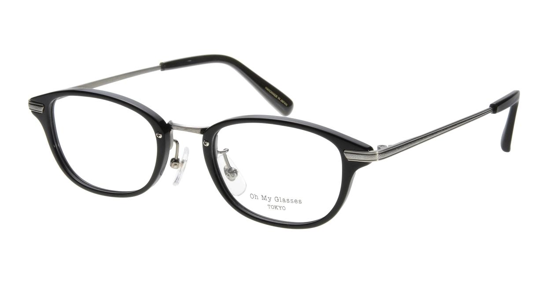 Oh My Glasses TOKYO Scott omg-091-4-21-47 [黒縁/鯖江産/スクエア]