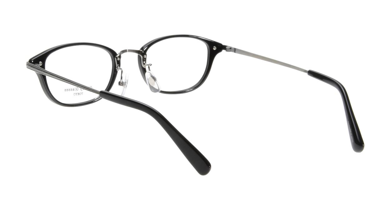 Oh My Glasses TOKYO Scott omg-091-4-21-47 [黒縁/鯖江産/スクエア]  2