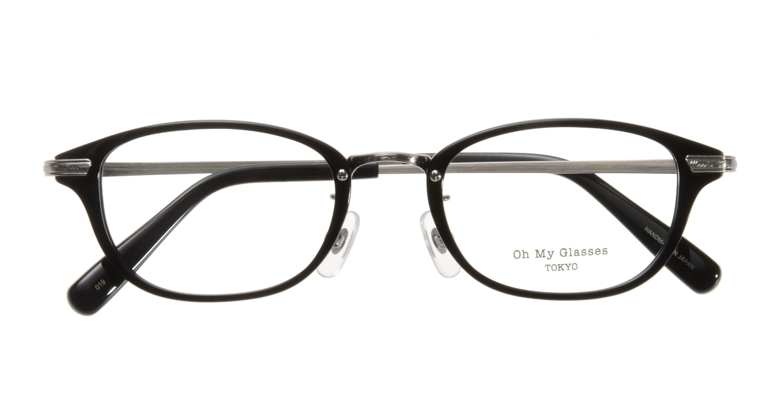 Oh My Glasses TOKYO Scott omg-091-4-21-47 [黒縁/鯖江産/スクエア]  3
