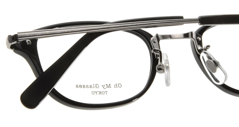 Oh My Glasses TOKYO Scott omg-091-4-21-47 [黒縁/鯖江産/スクエア]  4