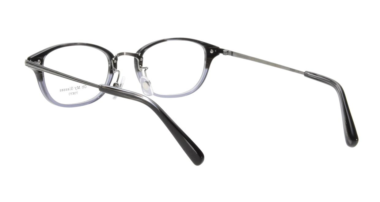 Oh My Glasses TOKYO Scott omg-091-31-21 [黒縁/鯖江産/スクエア]  2
