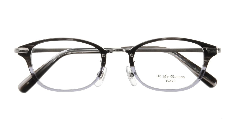 Oh My Glasses TOKYO Scott omg-091-31-21 [黒縁/鯖江産/スクエア]  3