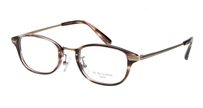 Oh My Glasses TOKYO Scott omg-091-18-12 [鯖江産/スクエア/茶色]