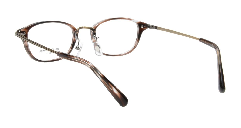 Oh My Glasses TOKYO Scott omg-091-18-12 [鯖江産/スクエア/茶色]  2