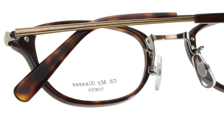 Oh My Glasses TOKYO Scott omg-091-20-12 [鯖江産/スクエア/べっ甲柄]  4