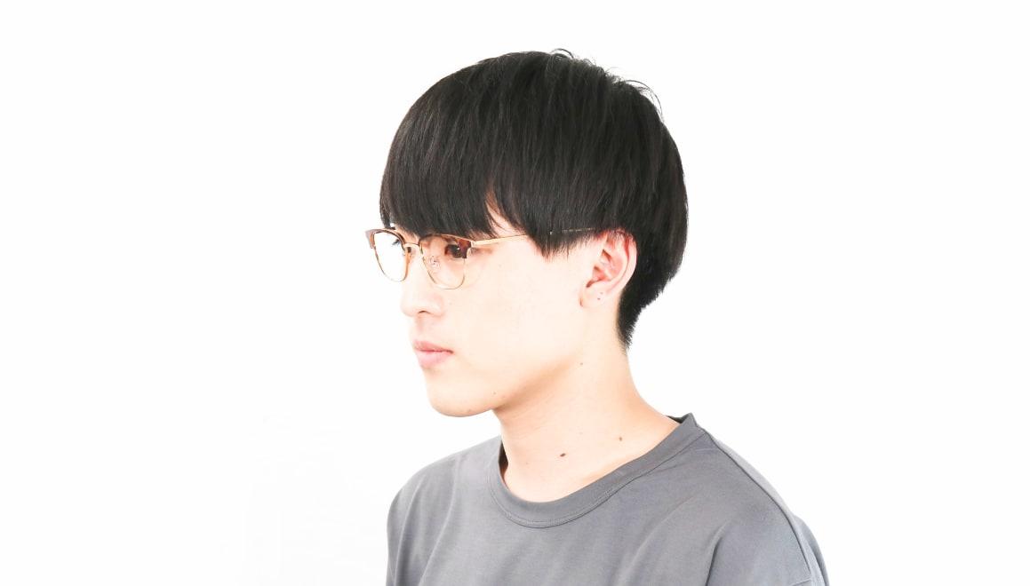 Oh My Glasses TOKYO Mike omg-092-8-47 [メタル/鯖江産/ウェリントン/べっ甲柄]  7