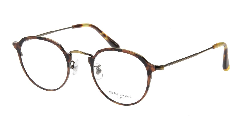 Oh My Glasses TOKYO Zoe omg-093-5-49 [メタル/鯖江産/丸メガネ/べっ甲柄]
