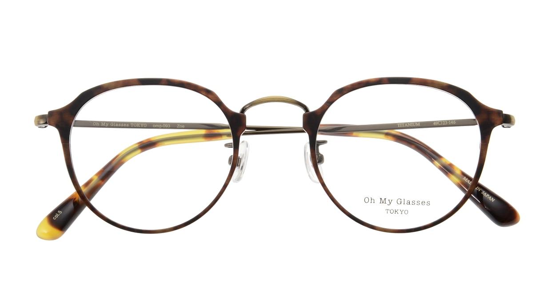 Oh My Glasses TOKYO Zoe omg-093-5-49 [メタル/鯖江産/丸メガネ/べっ甲柄]  3