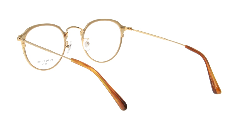 Oh My Glasses TOKYO Zoe omg-093-8-49 [メタル/鯖江産/丸メガネ/べっ甲柄]  2