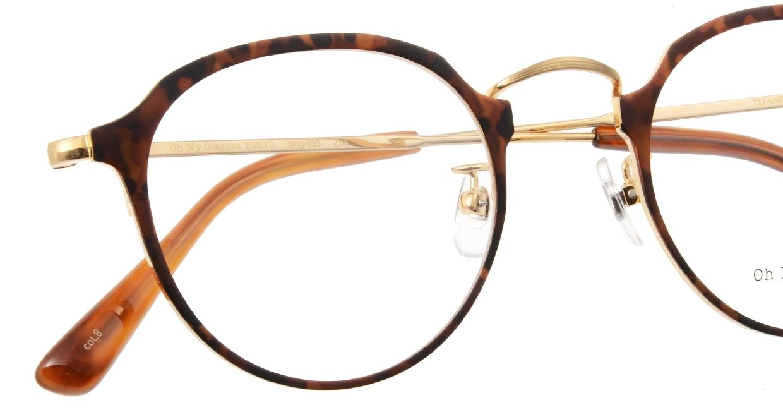 Oh My Glasses TOKYO Zoe omg-093-8-49 [メタル/鯖江産/丸メガネ/べっ甲柄]  4