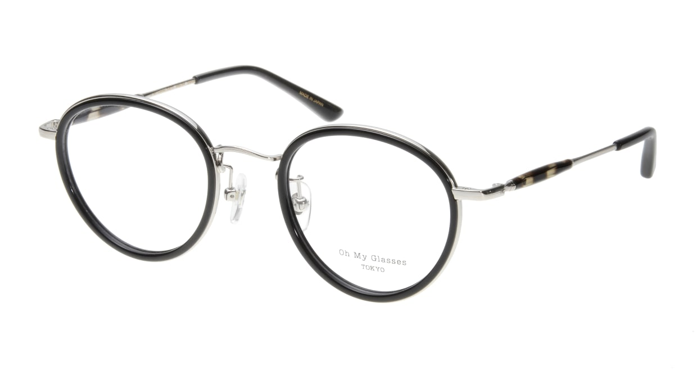 Oh My Glasses TOKYO Spencer omg-094-1-48 [黒縁/鯖江産/丸メガネ]