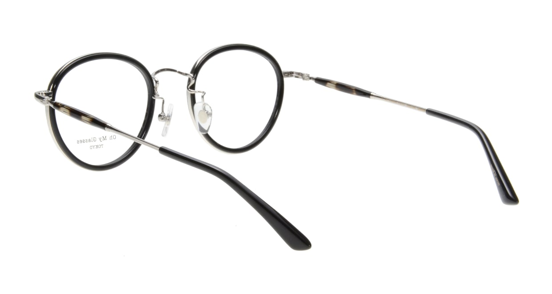 Oh My Glasses TOKYO Spencer omg-094-1-48 [黒縁/鯖江産/丸メガネ]  2