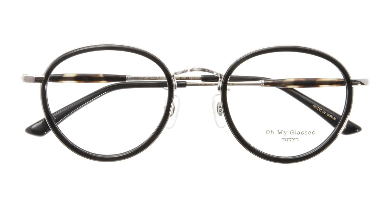 Oh My Glasses TOKYO Spencer omg-094-1-48 [黒縁/鯖江産/丸メガネ]  3