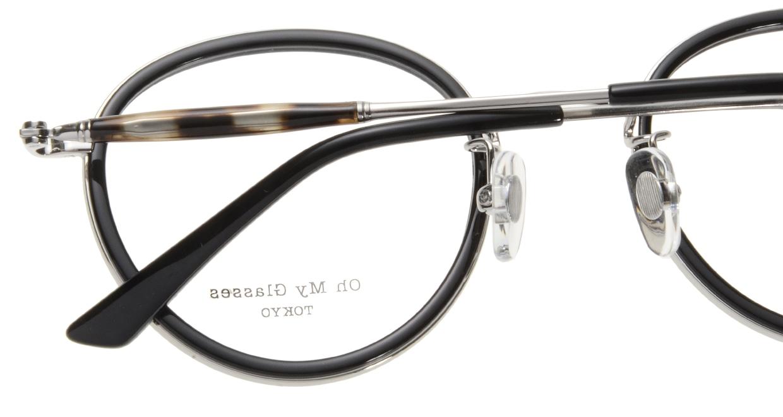 Oh My Glasses TOKYO Spencer omg-094-1-48 [黒縁/鯖江産/丸メガネ]  4