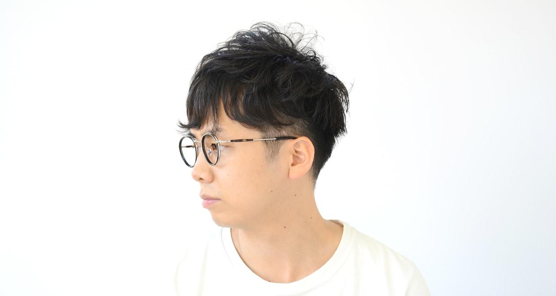 Oh My Glasses TOKYO Spencer omg-094-1-48 [黒縁/鯖江産/丸メガネ]  6