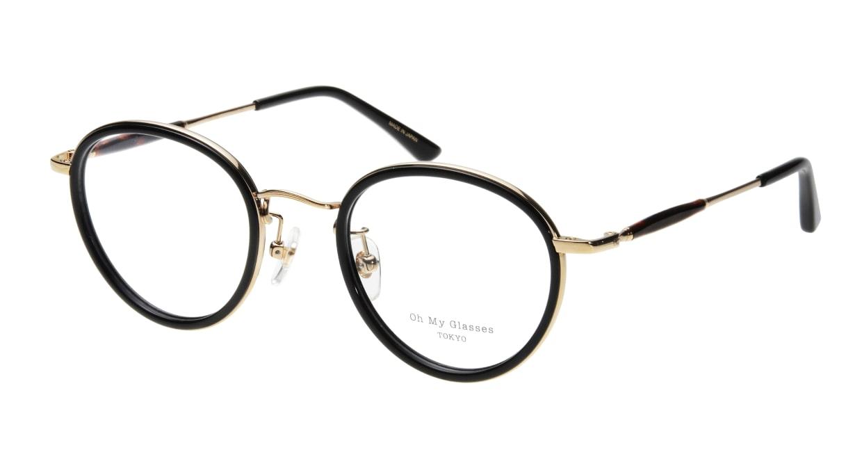 Oh My Glasses TOKYO Spencer omg-094-2-48 [黒縁/鯖江産/丸メガネ]