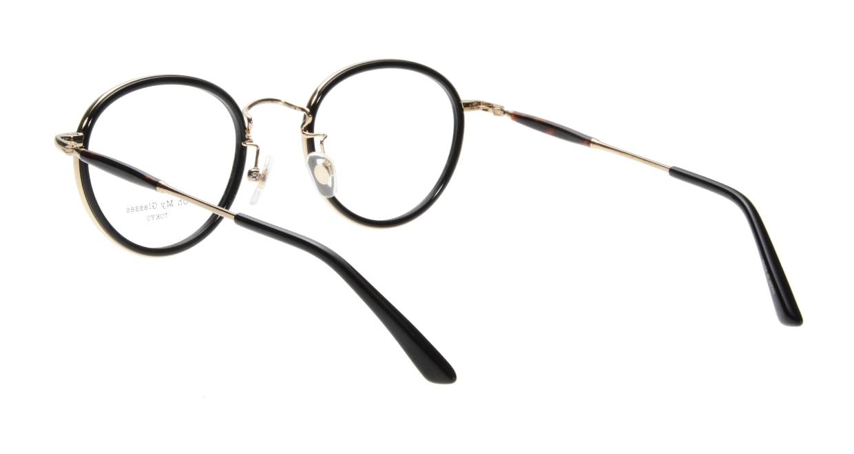 Oh My Glasses TOKYO Spencer omg-094-2-48 [黒縁/鯖江産/丸メガネ]  2