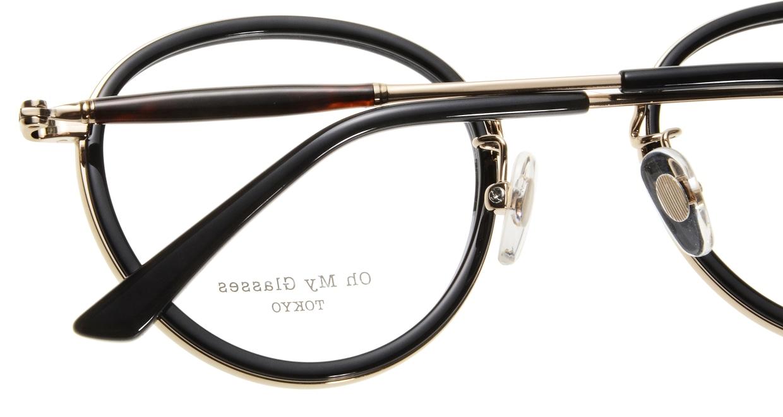 Oh My Glasses TOKYO Spencer omg-094-2-48 [黒縁/鯖江産/丸メガネ]  4