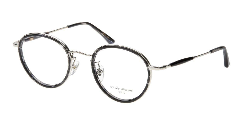 Oh My Glasses TOKYO Spencer omg-094-5-48 [鯖江産/丸メガネ/グレー]