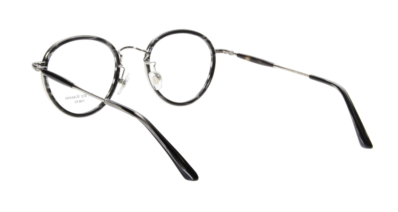 Oh My Glasses TOKYO Spencer omg-094-5-48 [鯖江産/丸メガネ/グレー]  2