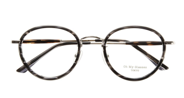 Oh My Glasses TOKYO Spencer omg-094-5-48 [鯖江産/丸メガネ/グレー]  3